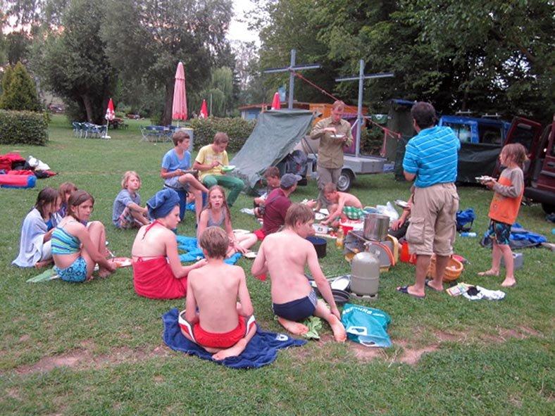 Lager Ebensfeld - Abendessen 5