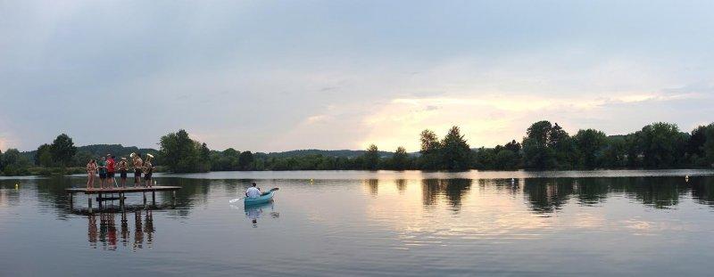 Lager Ebensfeld - Blaskapelle im Wasser 06
