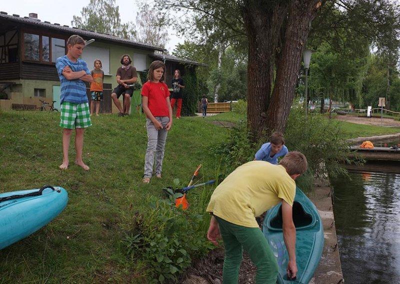 Lager Ebensfeld - Blaskapelle im Wasser 07