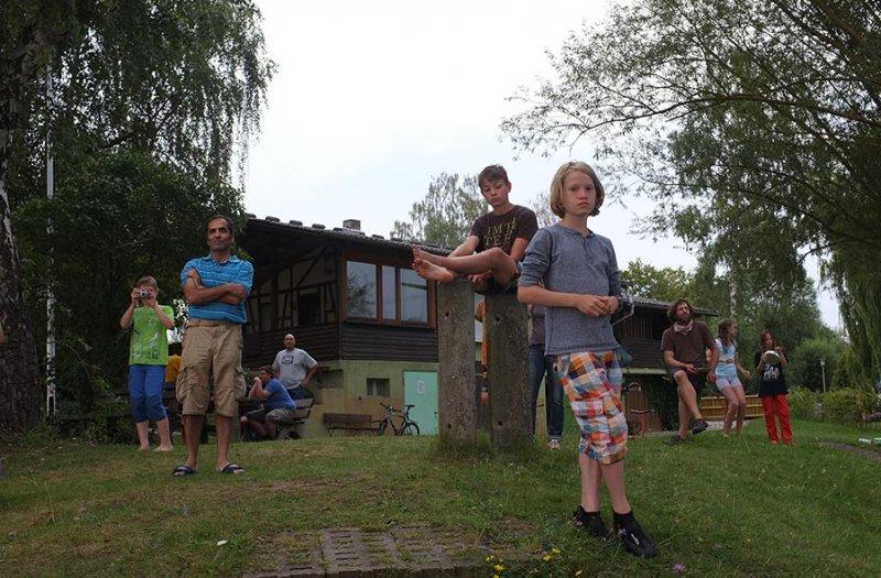 Lager Ebensfeld - Blaskapelle im Wasser 08