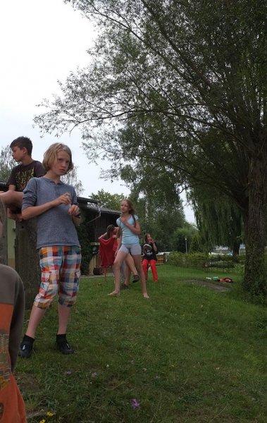 Lager Ebensfeld - Blaskapelle im Wasser 09