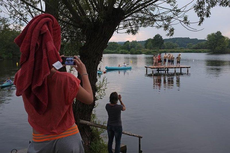 Lager Ebensfeld - Blaskapelle im Wasser 10
