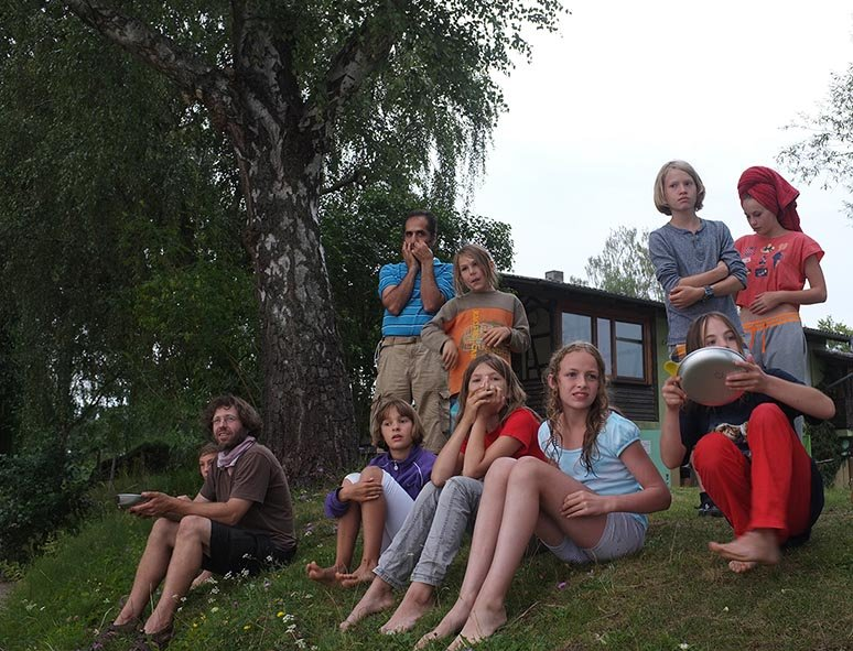 Lager Ebensfeld - Blaskapelle im Wasser 11