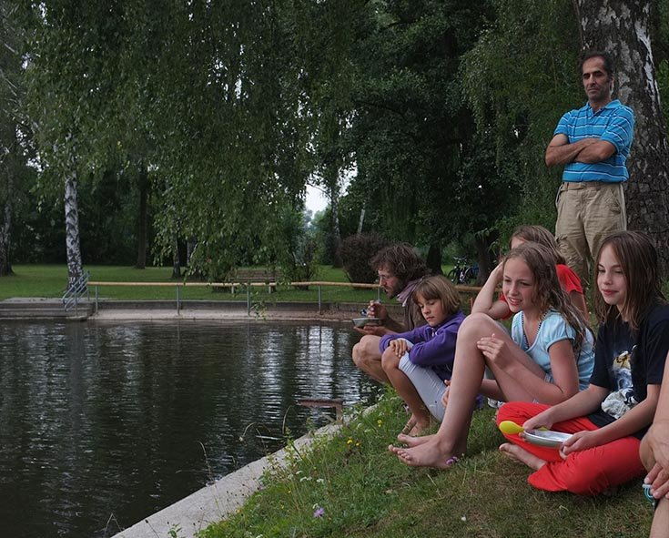 Lager Ebensfeld - Blaskapelle im Wasser 15
