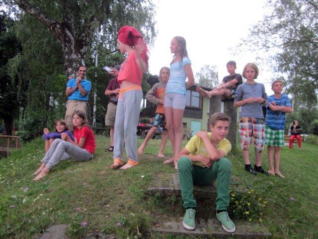 Lager Ebensfeld - Blaskapelle im Wasser 16
