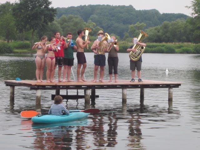 Lager Ebensfeld - Blaskapelle im Wasser 18