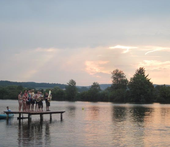 Lager Ebensfeld - Blaskapelle im Wasser 19