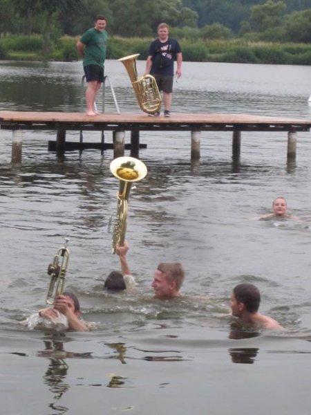 Lager Ebensfeld - Blaskapelle im Wasser 21