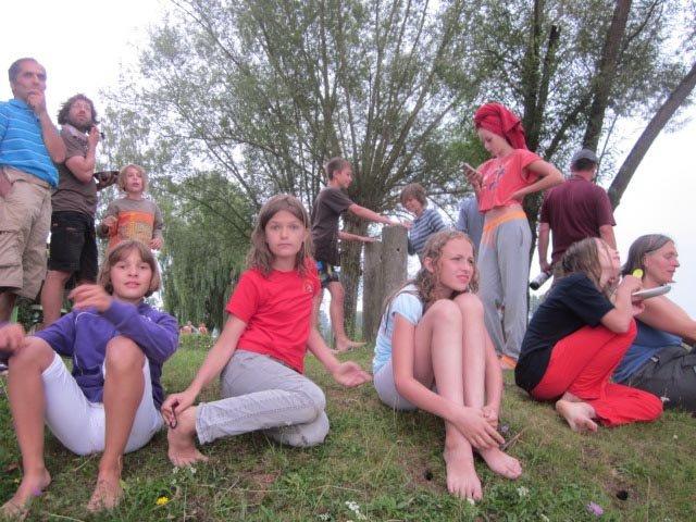 Lager Ebensfeld - Blaskapelle im Wasser 22