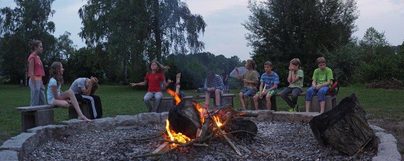 Lager Ebensfeld - Wehrwolfspiel am Lagerfeuer 2