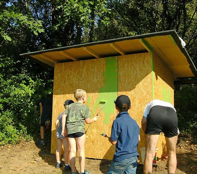 Hütte im Wühlmausgarten 2