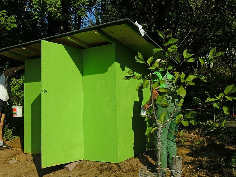 Hütte im Wühlmausgarten 7