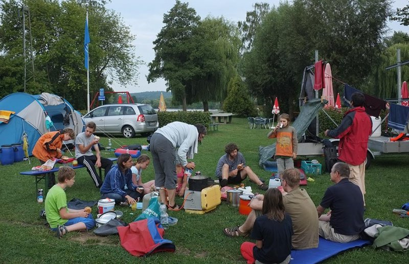 Camp Ebensfeld - Frühstück 06