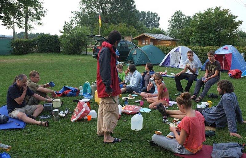 Camp Ebensfeld - Frühstück 07