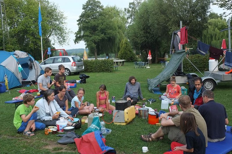 Camp Ebensfeld - Frühstück 08