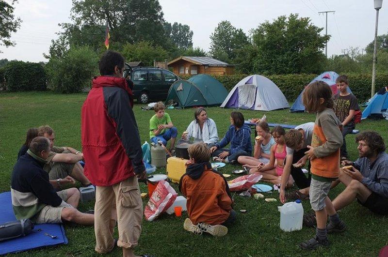 Camp Ebensfeld - Frühstück 02