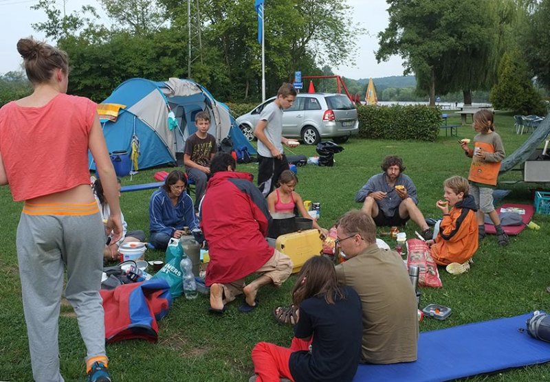 Camp Ebensfeld - Frühstück 03