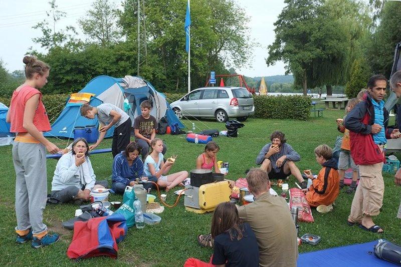 Camp Ebensfeld - Frühstück 04