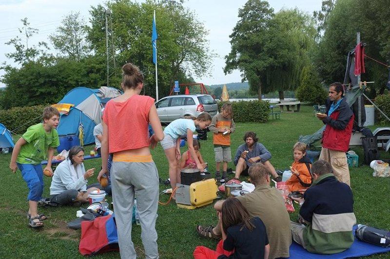 Camp Ebensfeld - Frühstück 05