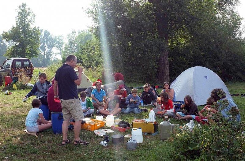 Camp Ebing - Abendessen 2