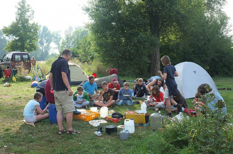 Camp Ebing - Abendessen 3
