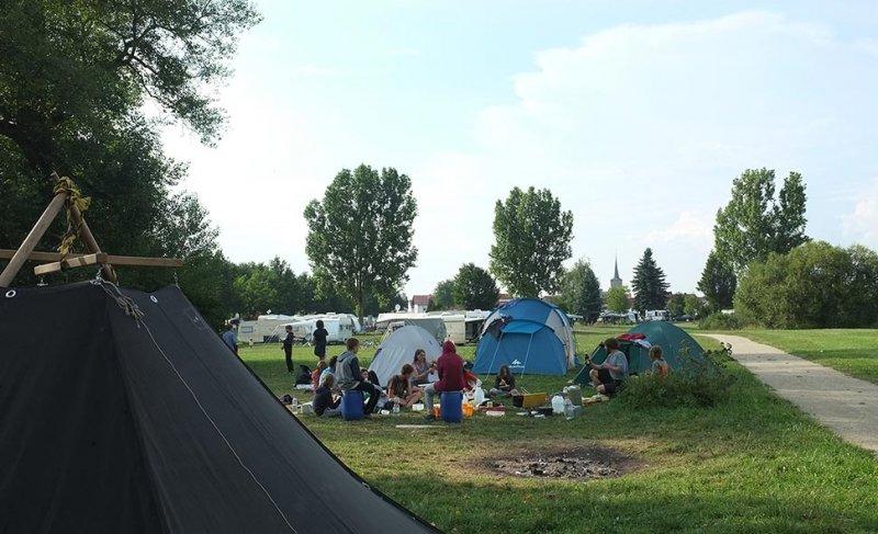 Camp Ebing - Abendessen 5