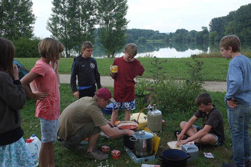 Camp Ebing - Essen machen 03