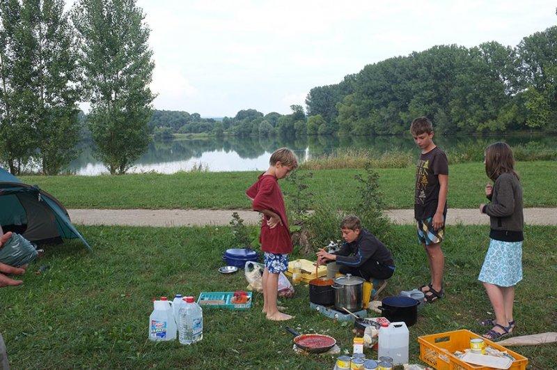 Camp Ebing - Essen machen 05