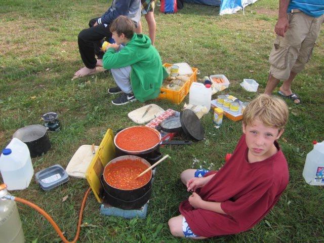 Camp Ebing - Essen machen 07