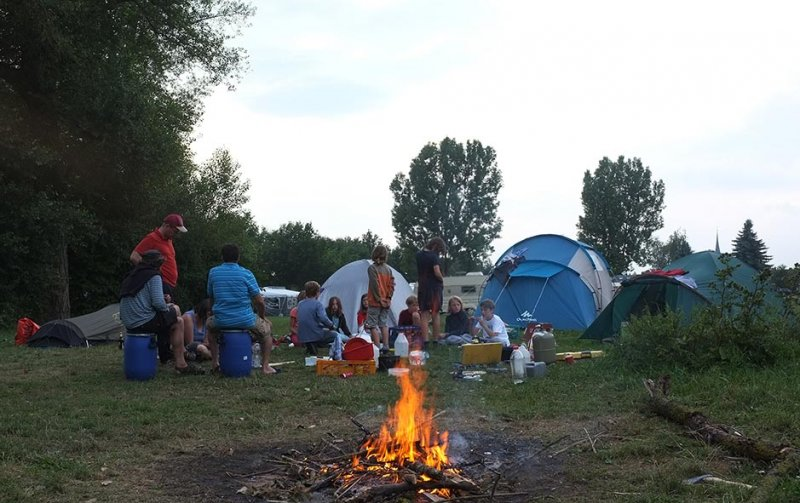Camp Ebing - Lagerfeuer 09