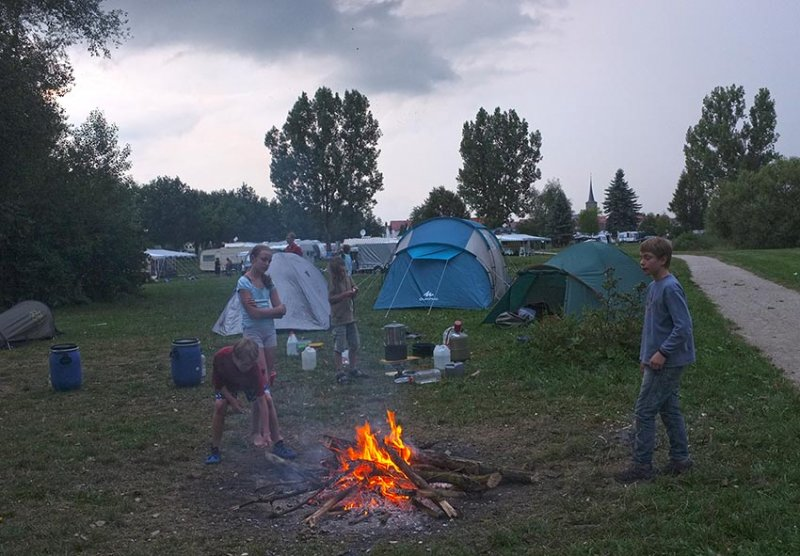 Camp Ebing - Lagerfeuer 10
