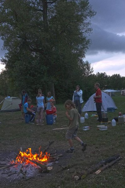 Camp Ebing - Lagerfeuer 11