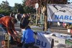 Aufbau NABU-Stand 7 10x15s