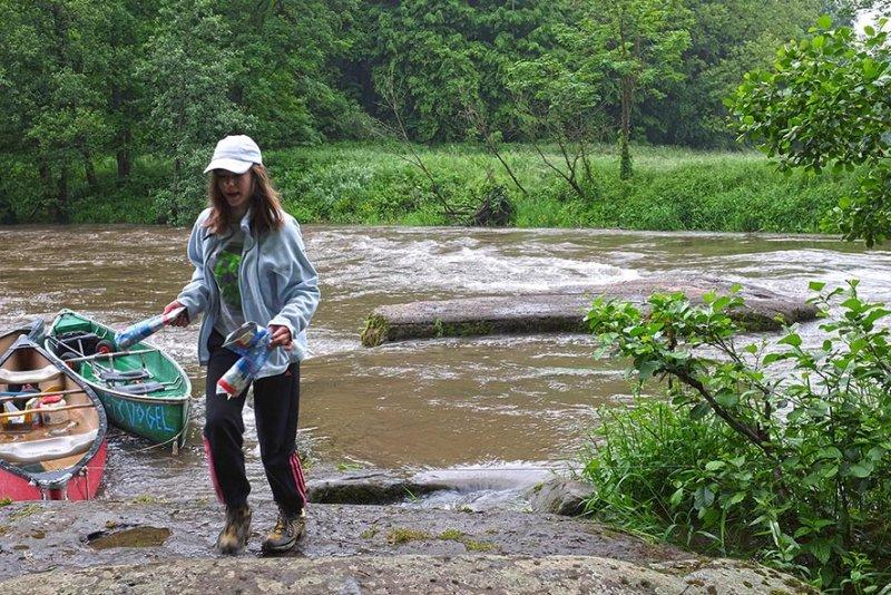 Hochwasser an der Anlegestelle 09