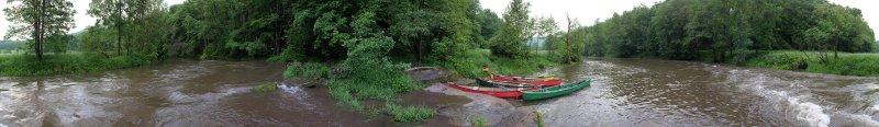 Hochwasser an der Anlegestelle 03