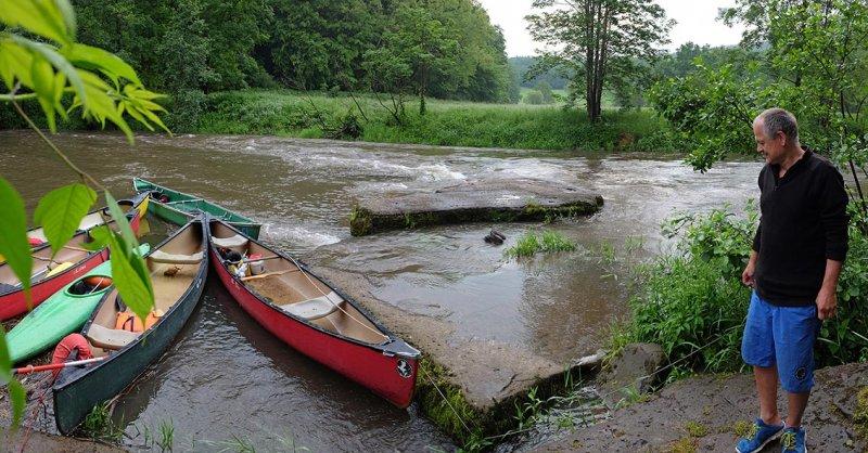 Hochwasser an der Anlegestelle 05
