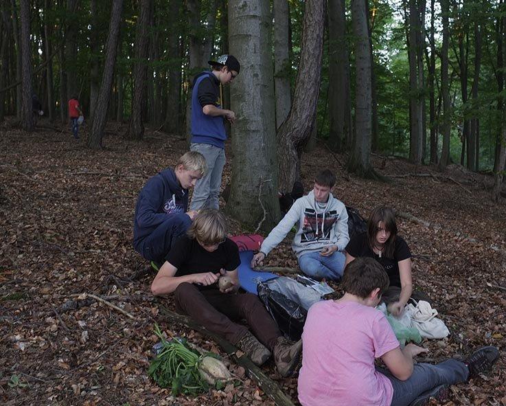 Überlebenstour - Nachtlager 1