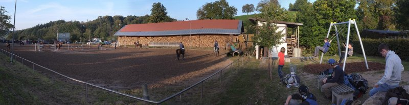 Überlebenstour - bei den Pferden 4