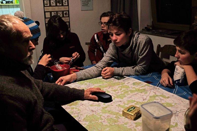 Planung Wintertour