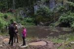 Tümpel für die Gelbbauchunke am Wassersteinbruch 4