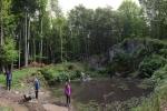 Tümpel für die Gelbbauchunke am Wassersteinbruch 5