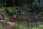 Tümpel für die Gelbbauchunke am Wassersteinbruch 6