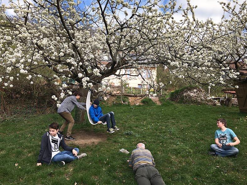 Kirschblüte in Eckis Garten 1 10x13s