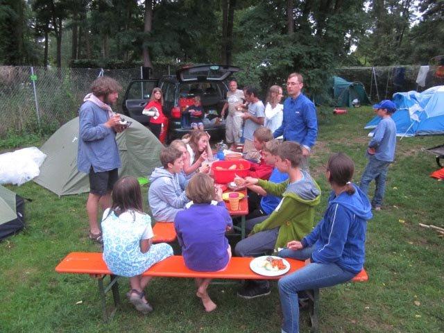Camp Bamberg - Abendessen 1