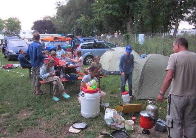 Camp Bamberg - Abendessen 2
