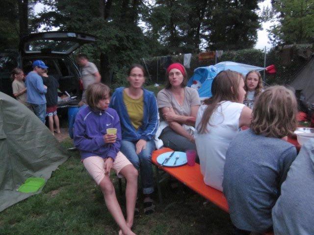 Camp Bamberg - Abendessen 3