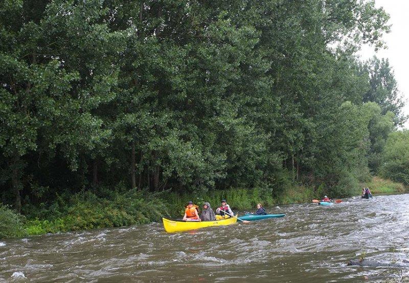 Mainfahrt - Leichtes Wildwasser 1