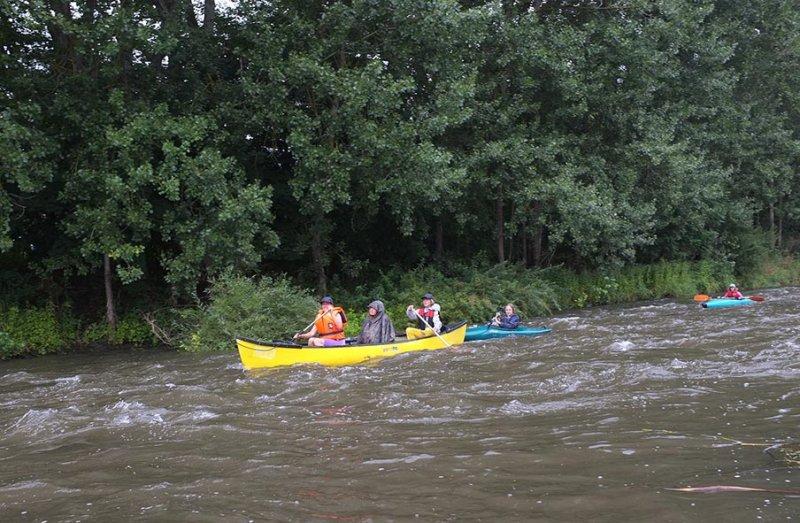 Mainfahrt - Leichtes Wildwasser 2