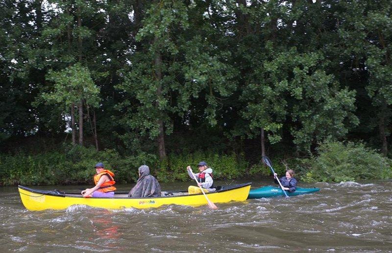 Mainfahrt - Leichtes Wildwasser 4