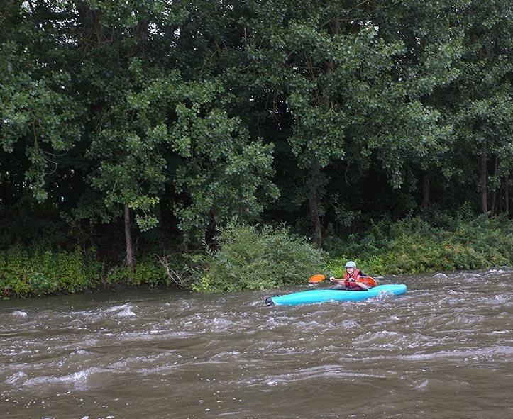 Mainfahrt - Leichtes Wildwasser 5